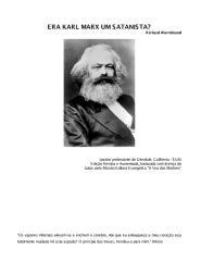 Era Karl Marx um satanista (pergunta) - Richard Wurmbrand.pdf