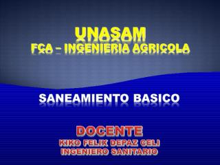 SANEAMIENTO AMBIENTAL RR SS.ppt