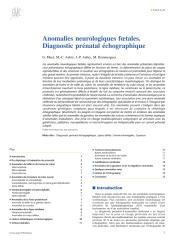 Anomalies neurologiques foetales. Diagnostic prénatal échographique.pdf