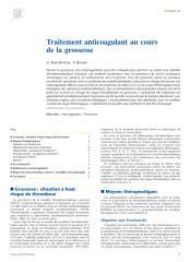 Traitement anticoagulant au cours de la grossesse.pdf