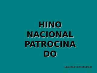 HINONACIONALPATROCINADO.pps