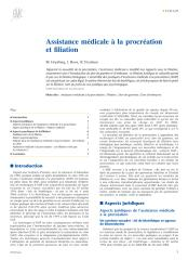 Assistance médicale à la procréation et filiation.pdf