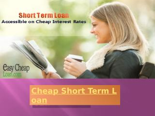 Bad Credit Short Term Loan.pptx