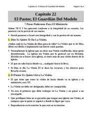 Capítulo 22  El Pastor-El Guardián Del Modelo.doc