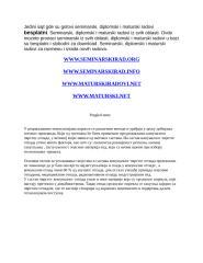 seminarski ekologija-zastita zivotne sredine.doc