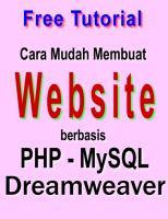 Buat WEB dgn PHP MYSQL Dreamweaver.pdf