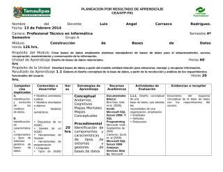 PLANEACION Construcción de BD.doc
