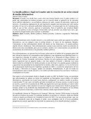 La batalla política y legal en Ecuador ante la creación de un sector estatal de medios informativos.docx
