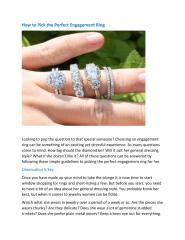 How to Pick the Perfect Engagement Ring.pdf