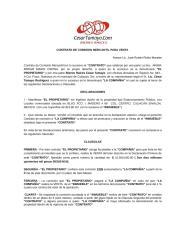 Contrato de Comisión Mercantil para Venta de Inmueble de la Sra. Miriam Marin.doc