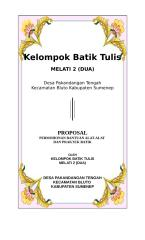 PROPOSAL BATIK TULIS.doc