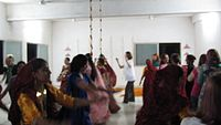 Group Indian dancing.MOV