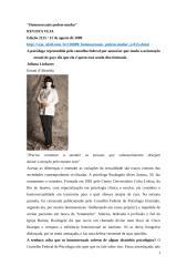 Entrevista_Psicóloga_Rozângela Alves Justino_Homossexuais podem mudar.doc