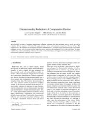 Dimensionality ReductionAComparative Review.pdf
