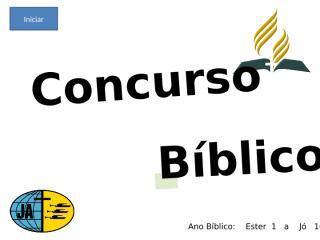 Concurso Bíblico 2010 - 010.ppt