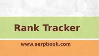Rank Tracker.pptx