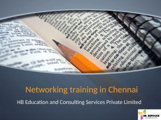 Networking training in Chennai.pptx