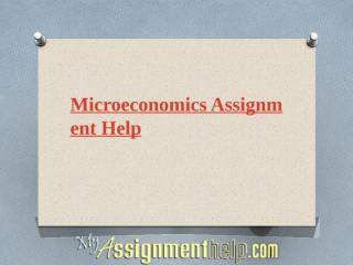Microeconomics assignment help.pptx